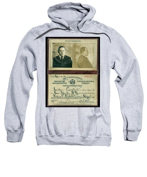 Prohibition Agent Id Sweatshirt
