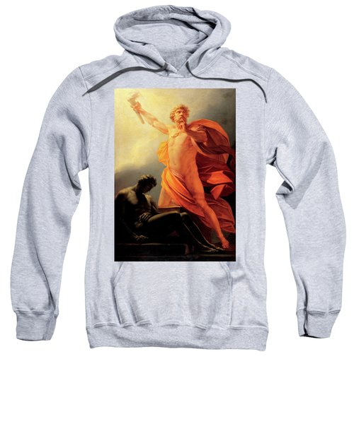 Prometheus Brings Fire To Mankind Sweatshirt