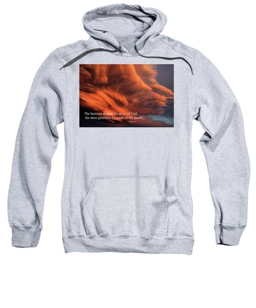Psalm 19-1 Sweatshirt