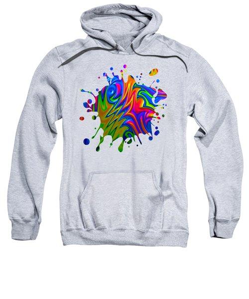Psychedelic Rainbow Fractal Sweatshirt