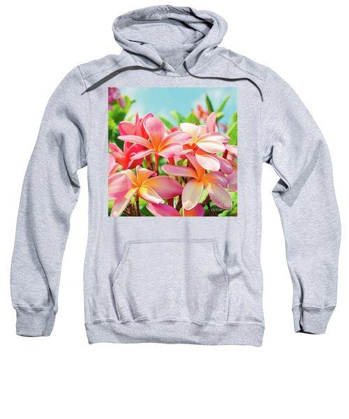 Pua Melia Ke Aloha Maui Sweatshirt
