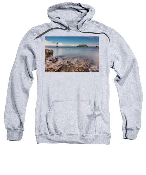 Puffin Island Lighthouse  Sweatshirt