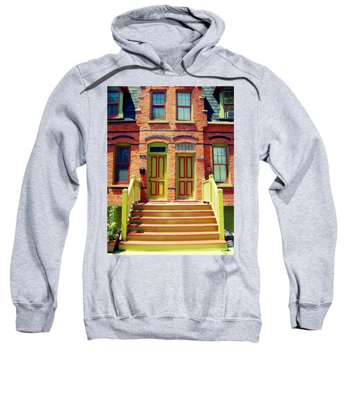 Pullman National Monument Row House Sweatshirt