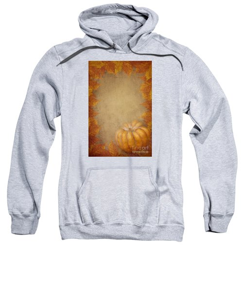 Pumpkin And Maple Leaves Sweatshirt