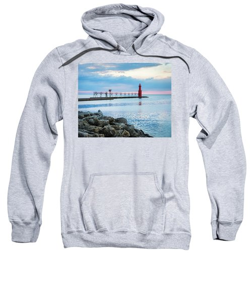 Sweatshirt featuring the photograph Pure Algoma by Bill Pevlor