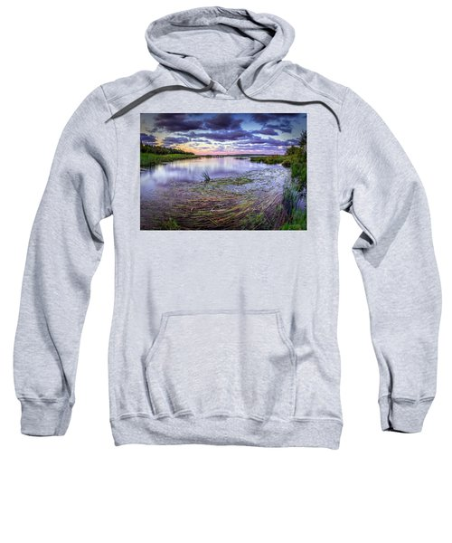 Purple Bay Sweatshirt