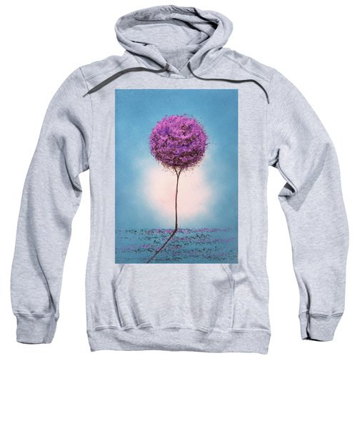 Purple Blossom Sweatshirt