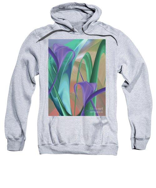 Purple Calla Lilies Sweatshirt