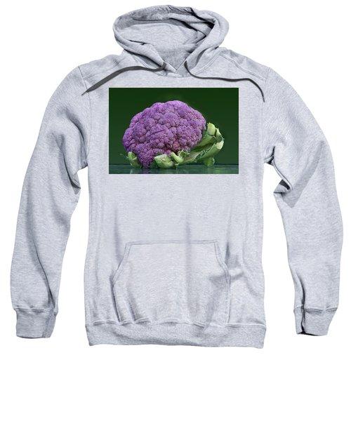 Purple Cauliflower Sweatshirt