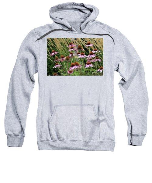 Purple Coneflowers Sweatshirt