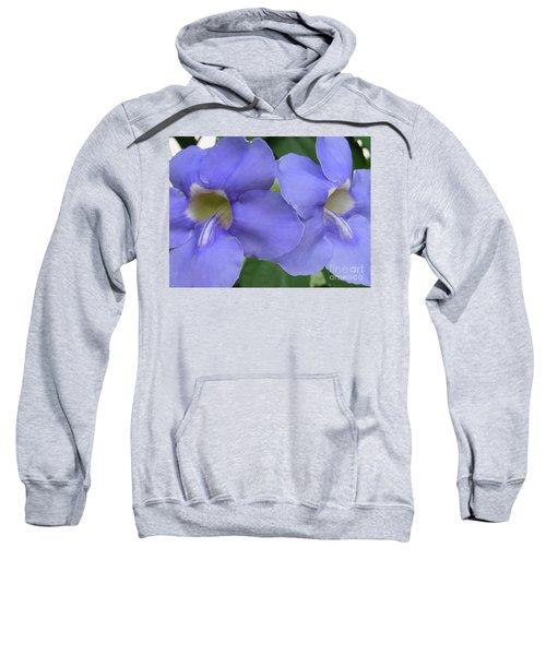 Purple Flower Picture Perfect Sweatshirt