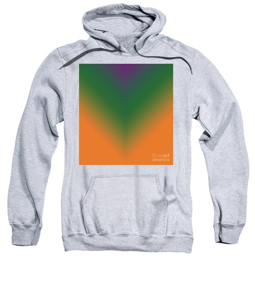 Purple, Green And Orange Sweatshirt