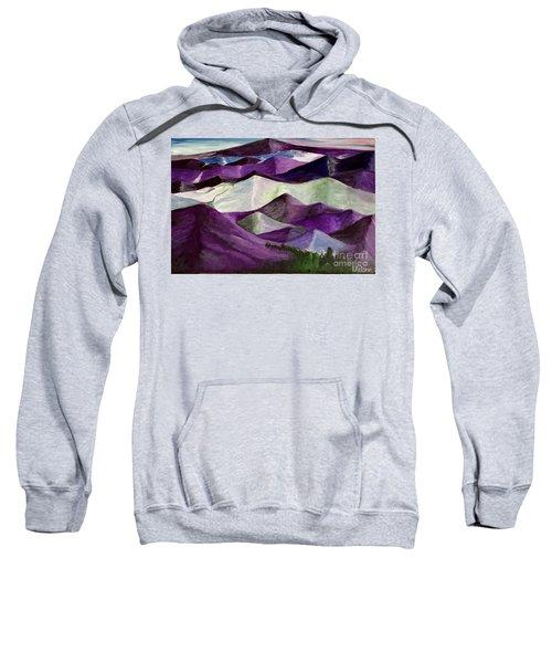 Purple Mountains Majesty Sweatshirt