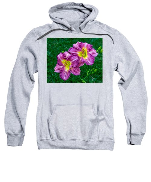 Purple Pair Sweatshirt