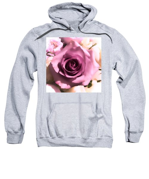 Purple Rose Sweatshirt