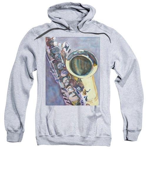 Purple Sax Sweatshirt