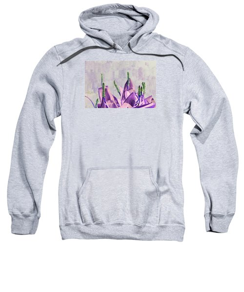 Purple Water Plant Sweatshirt