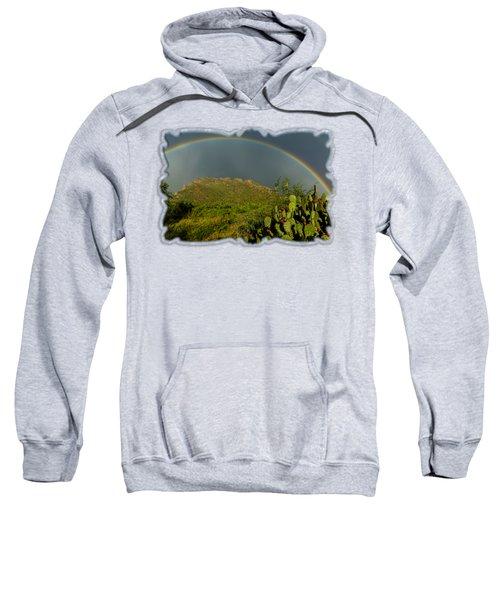 Pusch Ridge Rainbow H38 Sweatshirt by Mark Myhaver