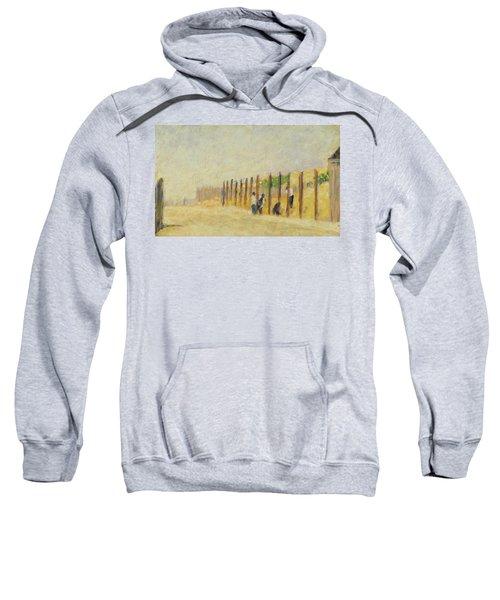 Pushing In The Poles Sweatshirt