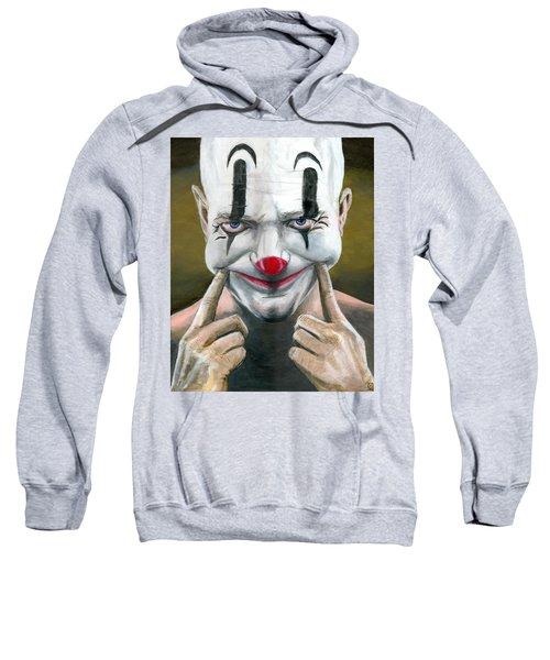 Put On A Happy Face Sweatshirt