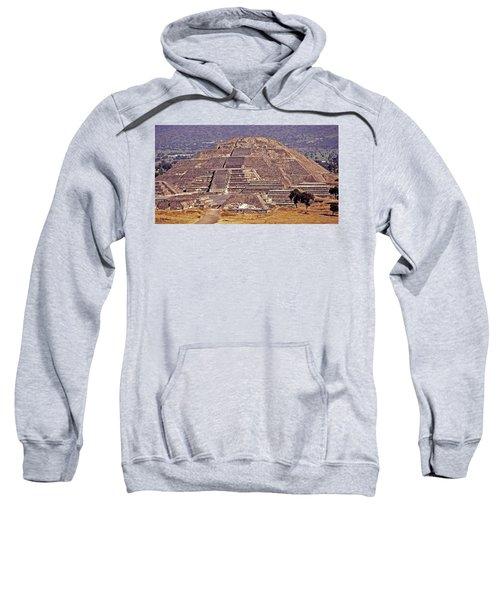 Pyramid Of The Sun - Teotihuacan Sweatshirt