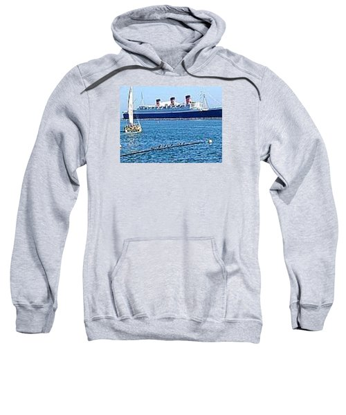 Queen Mary Sweatshirt by James Knecht
