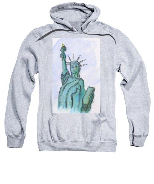 Queen Of Liberty Sweatshirt