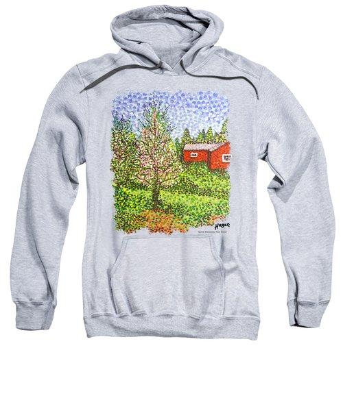Quick Blossoms, New Grass Sweatshirt