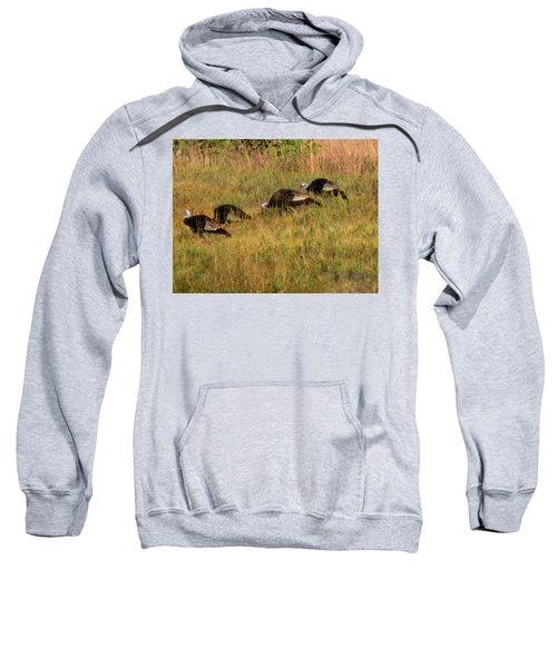 Quick Hide It's Thanksgiving Sweatshirt
