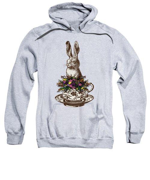 Rabbit In A Teacup Sweatshirt