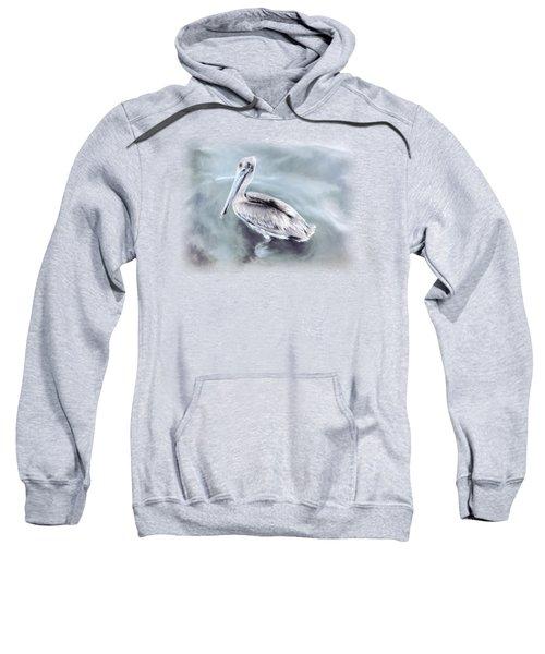Radiant Pelican Sweatshirt by Korrine Holt