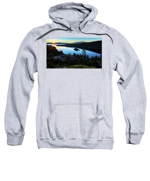 Radiant Sunrise On Emerald Bay Sweatshirt