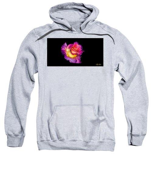 Rain-melted Rose Sweatshirt