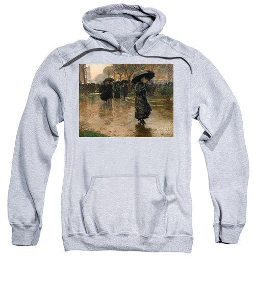 Rain Storm Union Square Sweatshirt