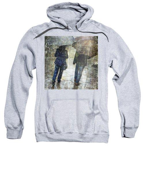 Rain Through The Fountain Sweatshirt