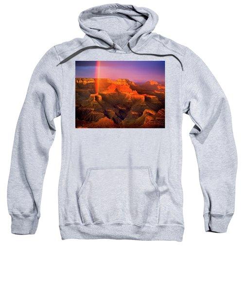 Rainbow At The Grand Canyon Sweatshirt