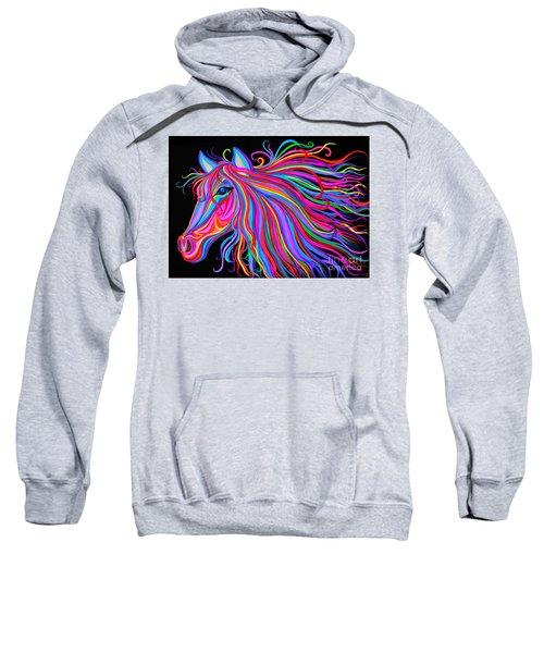 Rainbow Horse  Sweatshirt
