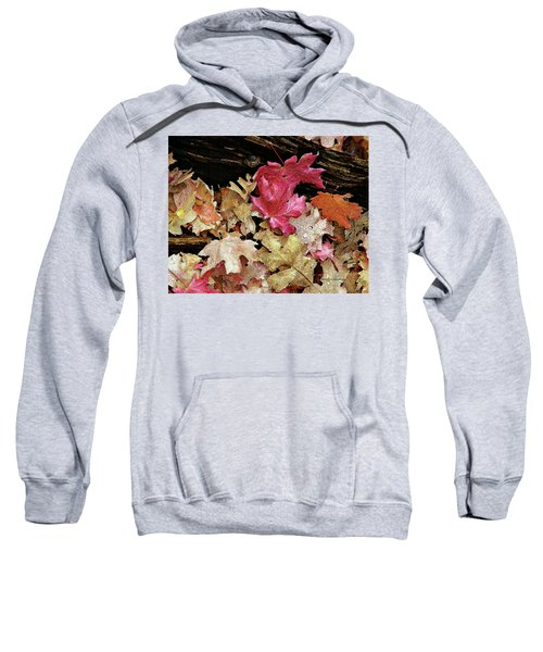 Rainy Day Leaves Sweatshirt