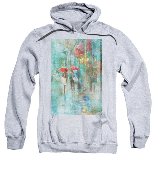 Rainy In Paris 4 Sweatshirt