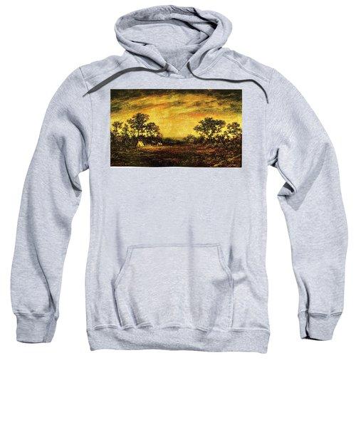 Ralph Blakelock, Indian Encampment Sweatshirt