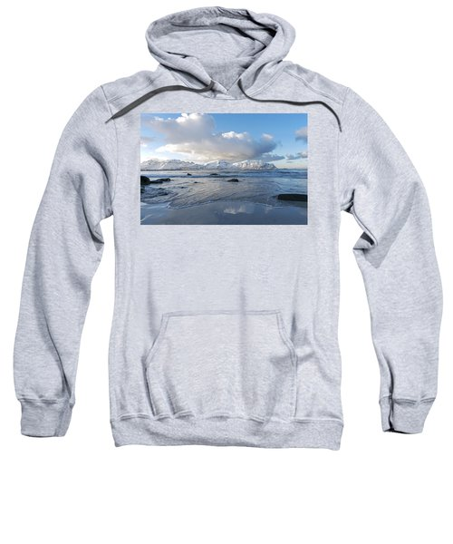 Ramberg Beach, Lofoten Nordland Sweatshirt