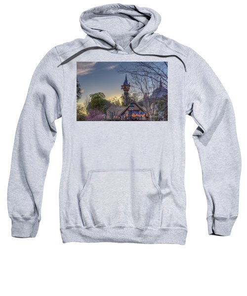 Rapunzel's Tower At Sunset Sweatshirt