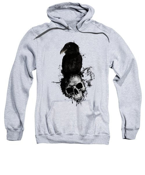 Raven And Skull Sweatshirt
