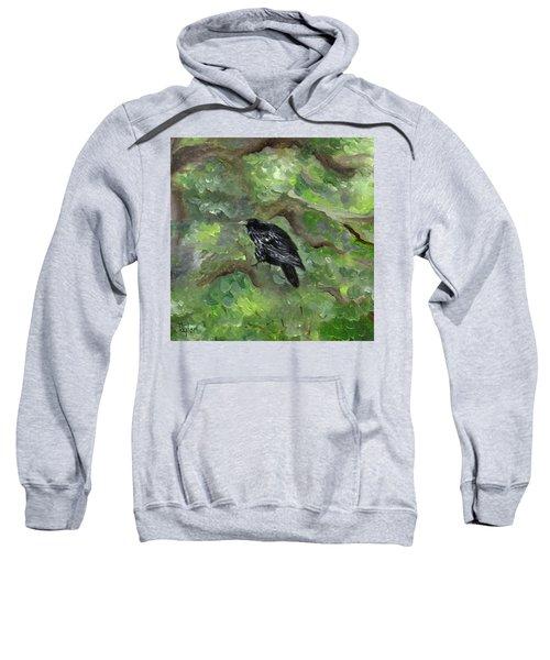 Raven In The Om Tree Sweatshirt
