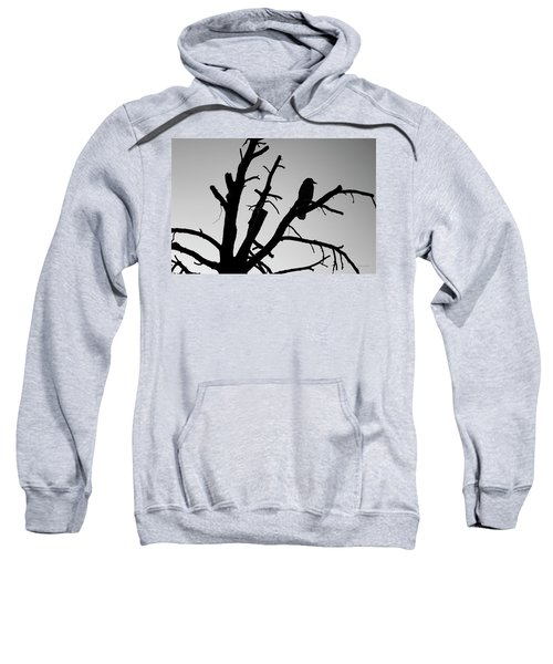 Raven Tree II Bw Sweatshirt