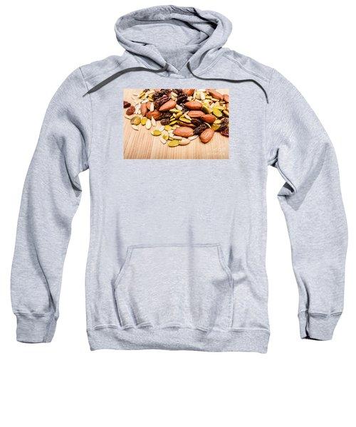 Raw Organic Nuts And Seeds Sweatshirt