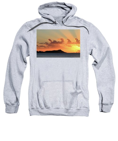 Rays Over Diamond Head Sweatshirt