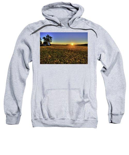 Rays Over The Field Sweatshirt