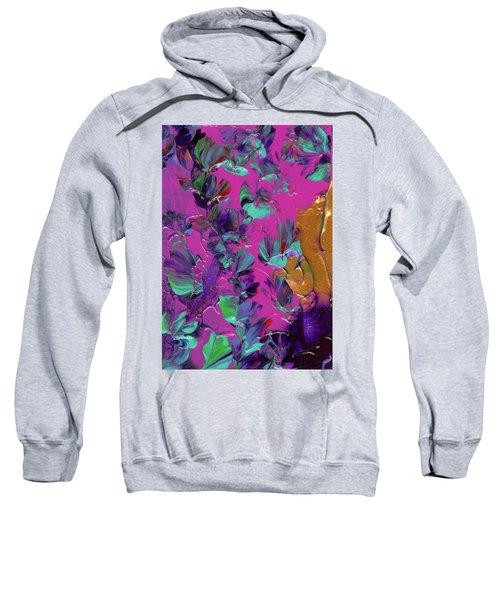 Razberry Ocean Of Butterflies Sweatshirt