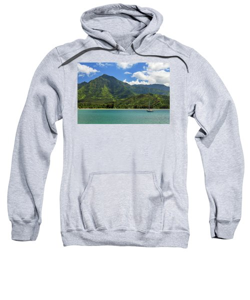 Ready To Sail In Hanalei Bay Sweatshirt